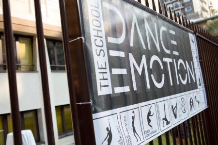 Pannello ingresso - Dance Emotion