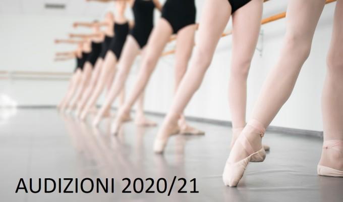 AUDIZIONI 2020/21